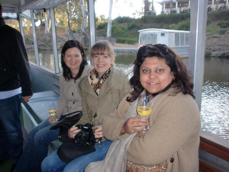 Wetlands cruise at Tahbilk, Nagambie Lakes