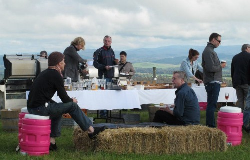 Brekky on the hill, Giant Steps, Yarra Valley