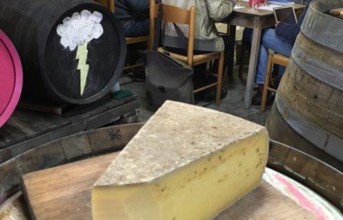 Cheese in the Luke Lambert Nebbiolo Man Cave