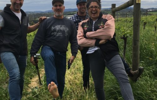Barefoot in Woori Yallock with Mac Forbes, Yarra Valley