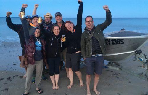 Dawn Squidding Crew