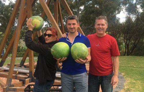 Watermelon hurling, Wirra Wirra