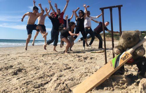 Beach jump, Port Willunga