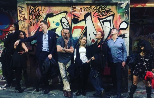 Band Photo, Hozier Lane, Melbourne