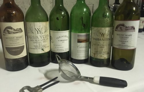 Five Decades of Yarra Cabernet, Mount Mary