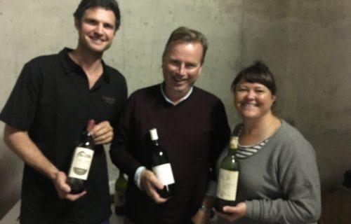 Sam Middleton, Patrick Walsh, Sarah Crowe – at Mount Mary