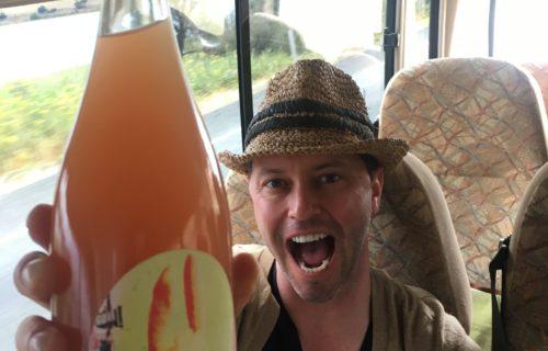 Brad + Bunny = Bus Wine