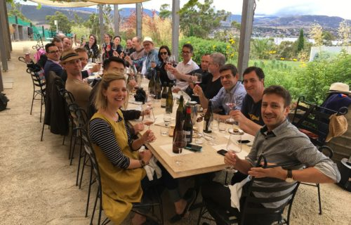 Long Table Lunch, Stefano Lubiana, Tasmania