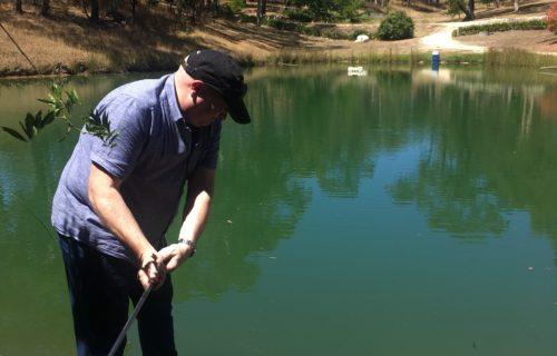 Dam golf at The Lane