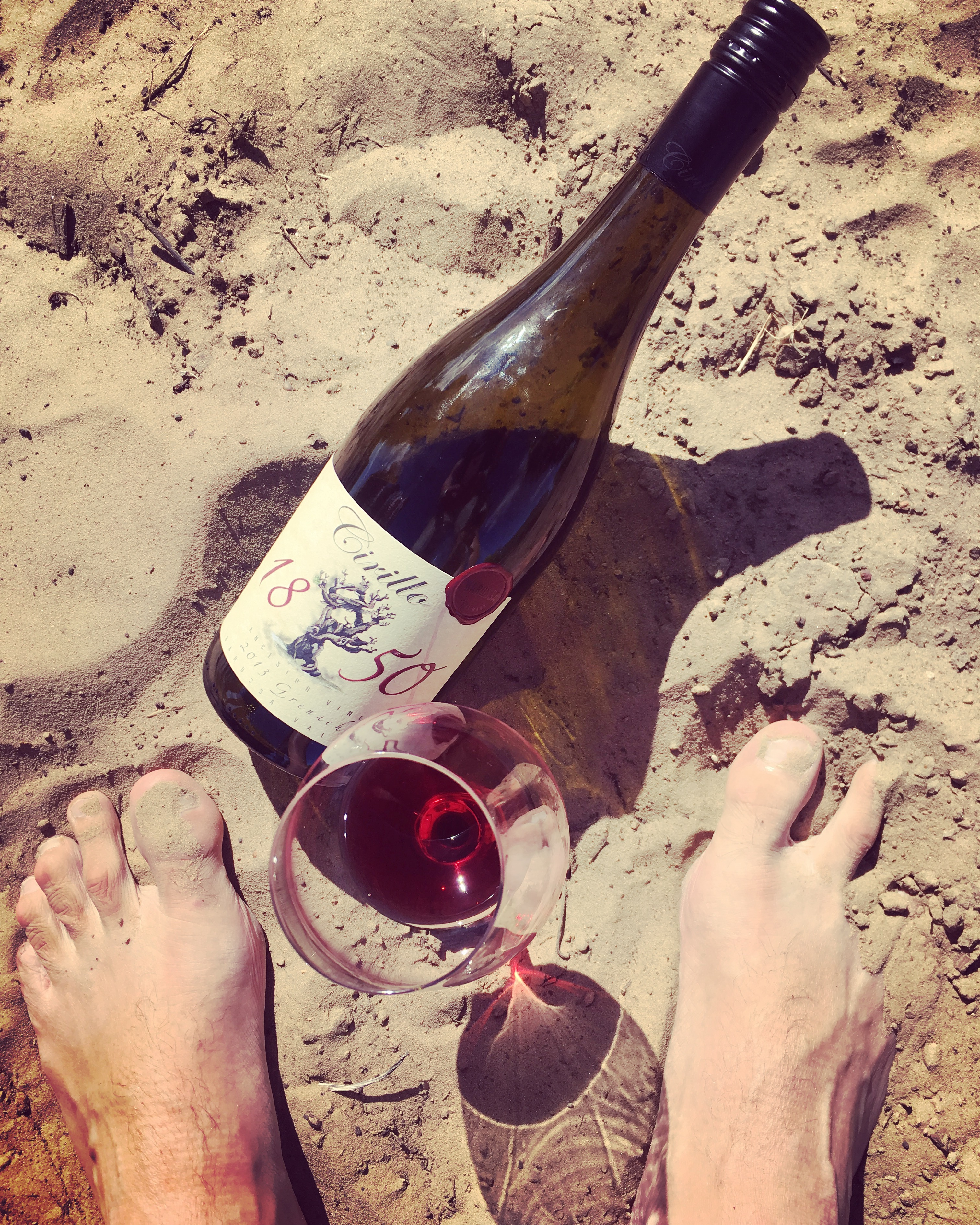 Grenache on sand, Cirillo, Barossa Valley