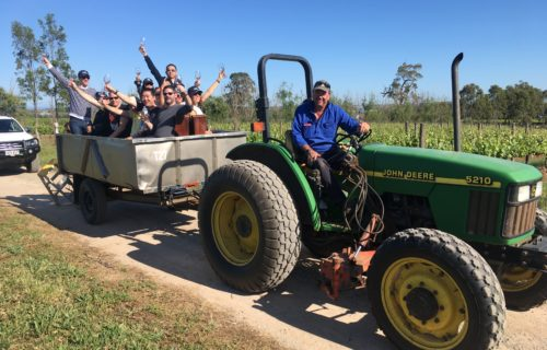 Willunga tractor ride